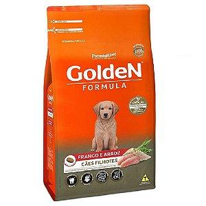 Ração Premium Especial Golden Fórmula Cães Filhotes Raças Médias e Grandes Sabor Frango e Arroz 3kg - PremierPet