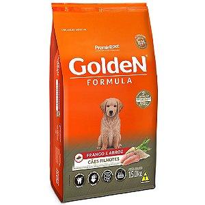Alimento Para Cães Golden Fórmula Frango & Arroz Filhotes 15kg - PremierPet