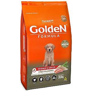 Alimento Para Cães Golden Fórmula Frango & Arroz Filhotes 20kg - PremierPet