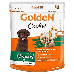 Petiscos Biscoito Golden Cookie Assados Cães Filhotes 350g Sem Transgênicos - PremierPet
