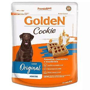 Petiscos Biscoito Golden Cookie Assados Cães Adultos 350g Sem Transgênicos - PremierPet