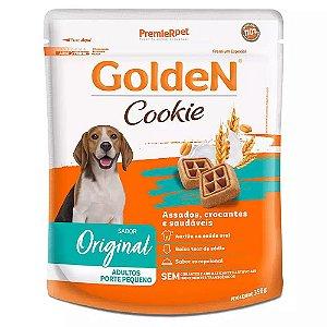 Petiscos Biscoito Golden Cookie Assados Cães Adultos Raças Pequenas 350g Sem Transgênicos - PremierPet