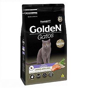 Ração Premium Especial Golden Gatos Adultos Sabor Salmão 1kg - PremierPet