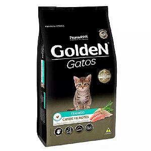 Ração Premium Especial Golden Gatos Filhotes Até 1 Ano Sabor Frango 3kg - PremierPet