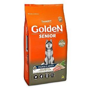 Ração Premium Especial Golden Fórmula Sênior Cães A Partir de 7 Anos Raças Médias e Grandes Sabor Frango e Arroz 15kg - PremierPet