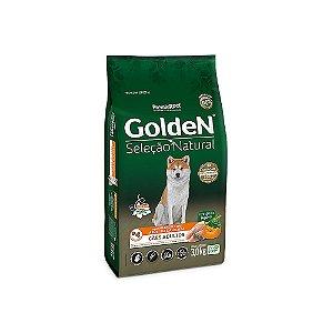Alimento para Cães Golden Seleção Natural Adultos Frango, Abóbora e Alecrim 3kg - PremierPet