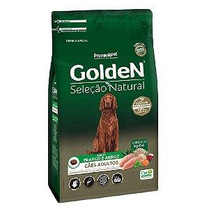 Ração Premium Especial Golden Cães Seleção Natural Adultos Sabor Frango e Arroz 3kg - PremierPet