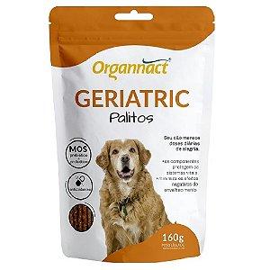 Suplemento Vitamínico Organnact Geriatric Palitos 160G