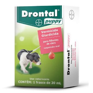 Vermífugo Drontal Puppy 20ml -Bayer