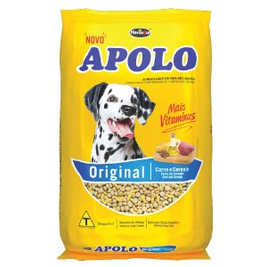 Ração Cães Adultos Apolo Original Carne e Cereais 1kg