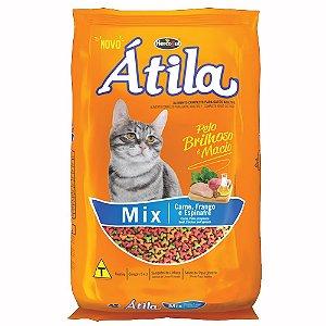 Ração Para Gatos Átila Mix Carne, Frango e Espinafre 10,1kg