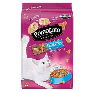 Ração Gatos Primogato Premium Castrado Frango 500g Hercosul