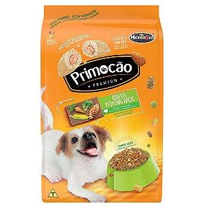 Ração Primocão Premium Cães Raças Pequenas Sabor Frango e Vegetais 1kg
