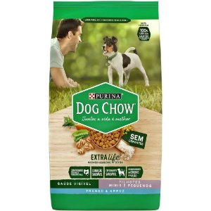 Ração Dog Chow para Cães Filhotes de Raças Pequenas Sabor Frango e Arroz 15kg