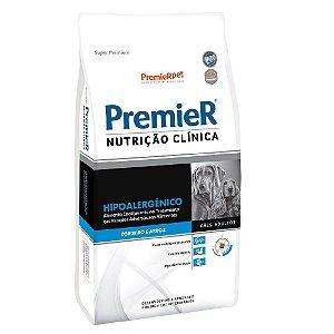 Ração Terapêutica Super Premium Premier Nutrição Clínica Cães Adultos Hipoalergênico Sabor Cordeiro e Arroz 2kg - PremierPet