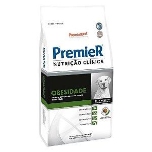 Ração Terapêutica Super Premium Premier Nutrição Clínica Cães Adultos Obesidade Raças Médias e Grandes 10,1kg - PremierPet