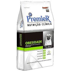 Ração Cães Premier Nutrição Clinica Obesidade 2kg Raças Peq