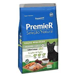 Ração Super Premium Premier Seleção Natural Cães Filhotes Até 12 Meses Raças Pequenas Sabor Frango Korin 2,5kg - PremierPet
