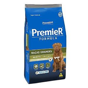 Ração Super Premium Premier Fómula Cães Adultos Raças Grandes Sabor Cordeiro 15kg - PremierPet