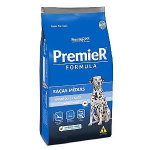 Ração Super Premium Premier Fómula Cães Adultos Raças Médias Sabor Frango 20kg - PremierPet
