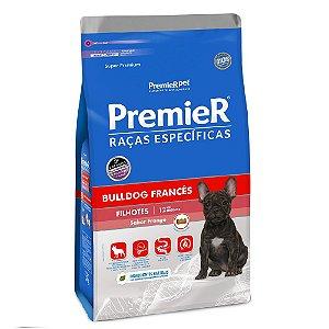 Ração Super Premium Premier Raças Específicas Bulldog Francês Filhotes Sabor Frango 1kg - PremierPet
