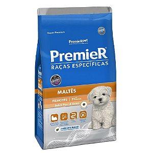 Ração Super Premium Premier Raças Específicas Maltês Filhotes Sabor Peru e Arroz 1kg - PremierPet