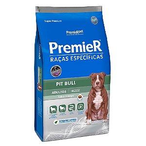 Ração Super Premium Premier Raças Específicas Pit Bull Adultos Sabor Frango 12kg - PremierPet