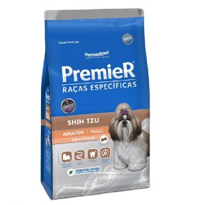 Ração Super Premium Premier Raças Específicas Shih Tzu Adultos Sabor Salmão 2,5kg - PremierPet