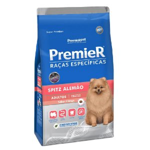 Ração Super Premium Premier Raças Específicas Spitz Alemão Adultos Sabor Frango 1kg - PremierPet