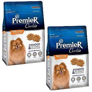Combo 2un PremieR Cookie Cães Adultos Raças Pequenas 250g