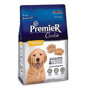 Petiscos Biscoito Premier Cookie Assados Cães Filhotes 250g - Sem Trangênicos - PremierPet