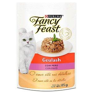 Ração Úmida Fancy Feast Sachê Gatos Adultos Goulash Sabor Peru 85g - Purina
