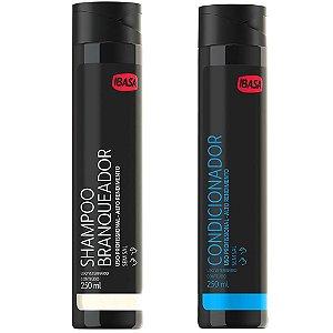 Kit Ibasa Shampoo Branqueador 250ml + Condicionador 250ml