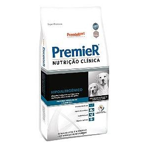 Ração Terapêutica Super Premium Premier Nutrição Clínica Cães Adultos e Filhotes Hipoalergênico Proteína Hidrolisada e Mandioca Porte Médios e Grandes 10,1kg - PremierPet