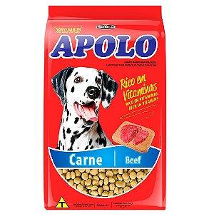 Ração Para Cães Adultos Apolo Carne 1kg - Hercosul