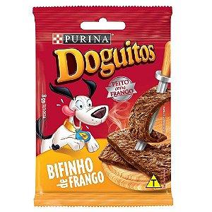 Petisco Doguitos Bifinho Sabor Frango 65g - Purina