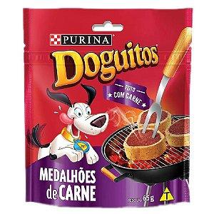 Petisco Doguitos Snack Medalhões de Carne 65g - Purina