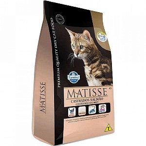 Ração Matisse Gatos Castrados Salmão 7,5kg