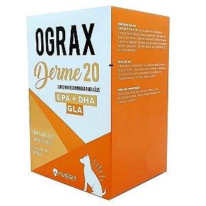 Ograx Derme 20 - Avert 30 Capsulas