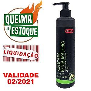 Máscara Ibasa Restauradora 230g - LIQUIDAÇÃO