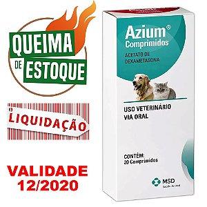 Azium - 20 Comprimidos - MSD - LIQUIDAÇÃO