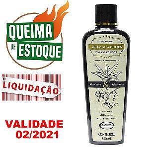 Shampoo Fortalecedor Aromas Verdes 350 ml Ecovet - LIQUIDAÇÃO