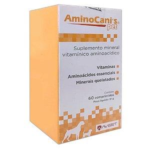 Aminocanis Pet 60 Comprimidos 51g - Avert