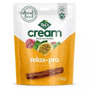 Sticks Recheados Cream Relax Pro 120g - Nats