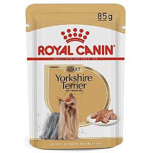 Ração Úmida Royal Canin Breeds Yorkshire Terrier Adult Wet 85g
