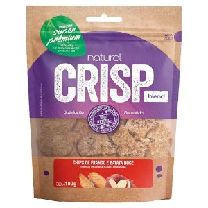 Snacks Chips De Frango E Batata Doce Natural Crisp 100g