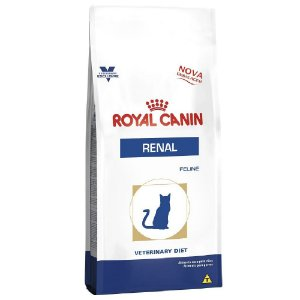 Ração Royal Canin Veterinary Gatos Renal 500g