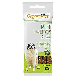 Suplemento Vitamínico Organnact Pet Palitos 40G