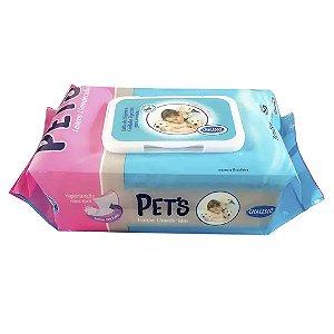 Lenços Umedecidos Chalesco Pets 80un