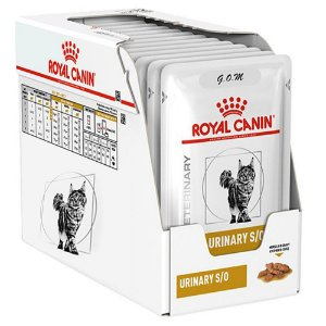 Combo 12un Sachê Royal Canin Urinary S/O Feline 85g Cada